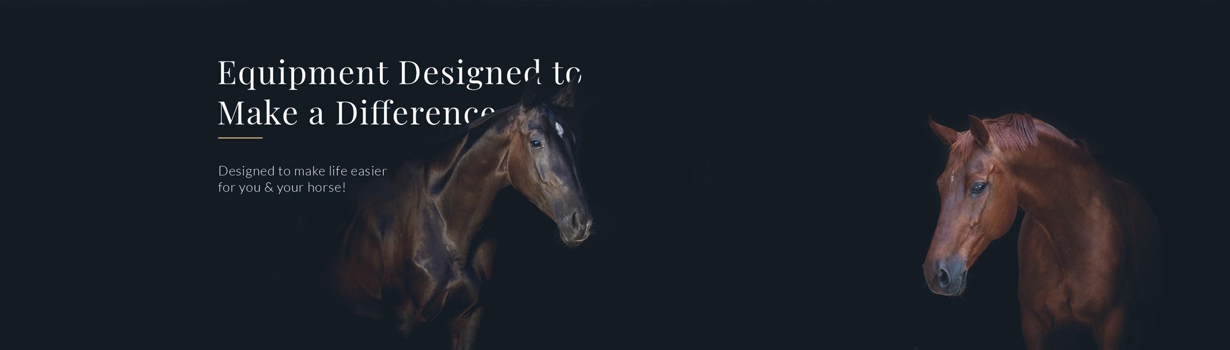 Horse equipment banner